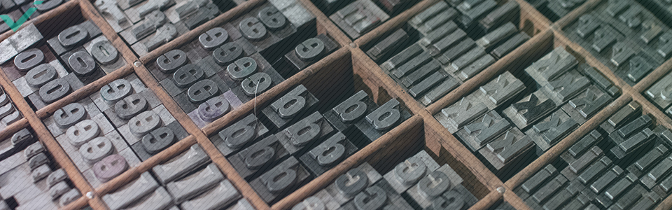 Social media images: solid typefaces keep your brand consistent