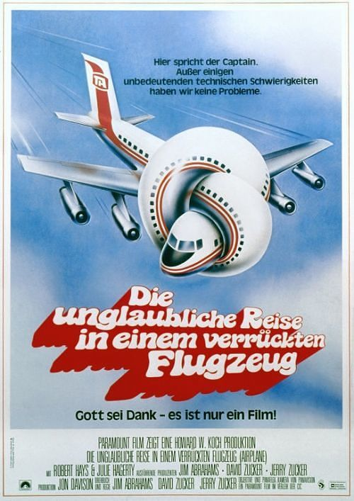 Airplane: The unbelievable trip in a wacky airplane (Germany)