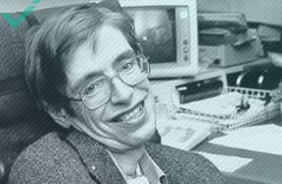 Stephen Hawking, an author, a theoretical physicist, a cosmologist (1942-2018)