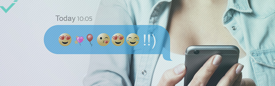 Using emojis socially or even professionally is easy, as long as you know your audience.