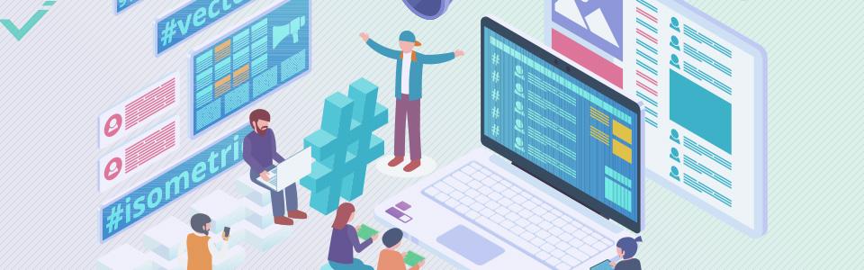 Gebruik hashtags die direct relevant zijn voor uw bedrijf en content.